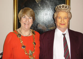 Lord Mayor Lynne Stagg, Guess who?